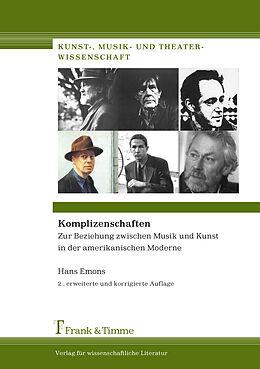 Kartonierter Einband Komplizenschaften von Hans Emons