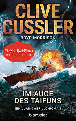Kartonierter Einband Im Auge des Taifuns von Clive Cussler, Boyd Morrison