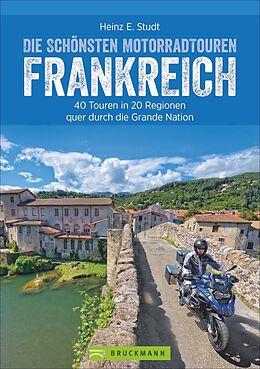 Die schönsten Motorradtouren Frankreich [Version allemande]