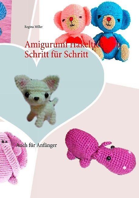 Free Amigurumi Dog Crochet Patterns | Crochê livre, Brinquedos de ... | 648x457