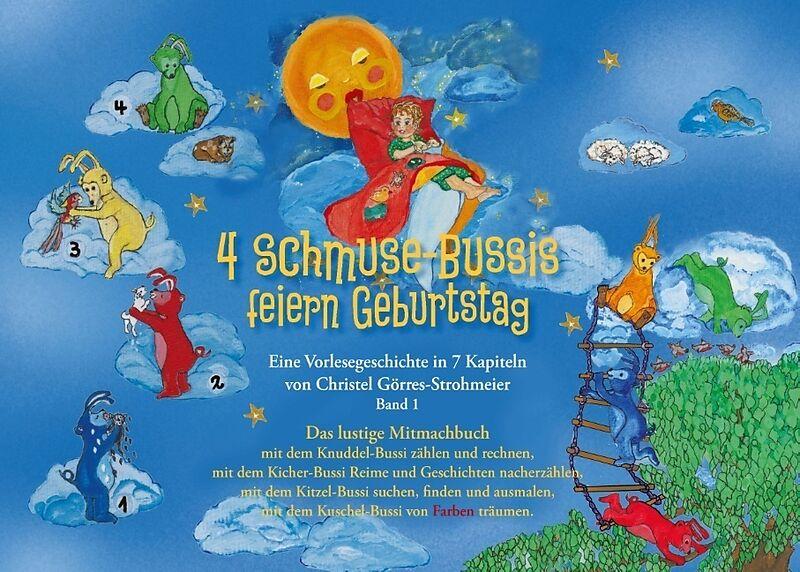 4 Schmuse-Bussis feiern Geburtstag