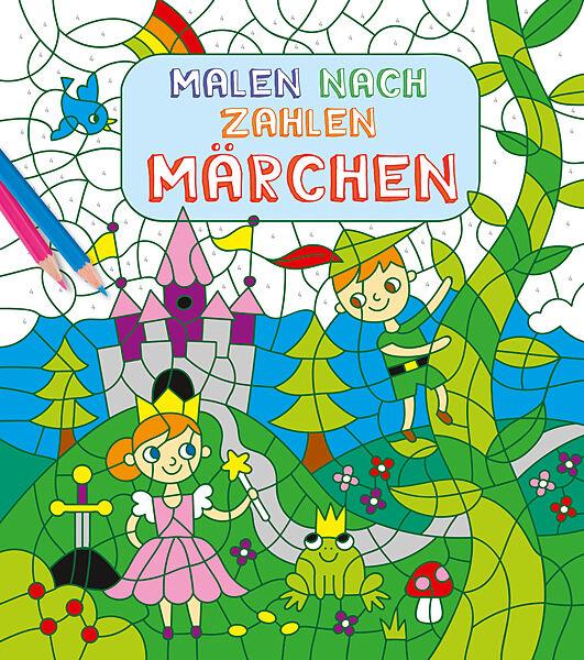 Malen nach Zahlen für Kinder: Märchen - - Buch kaufen | exlibris.ch