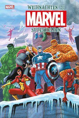 Fester Einband Weihnachten mit den Marvel-Superhelden von Charles Soule, Stan Lee, Peter David