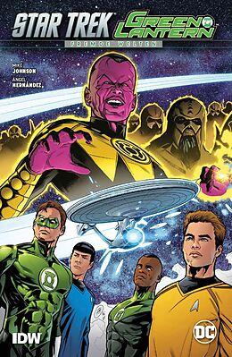 Star Trek/Green Lantern: Fremde Welten [Version allemande]