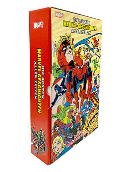 Fester Einband Die besten Marvel-Geschichten aller Zeiten: Marvel Treasury Edition von Stan Lee, Steve Ditko, Jack Kirby