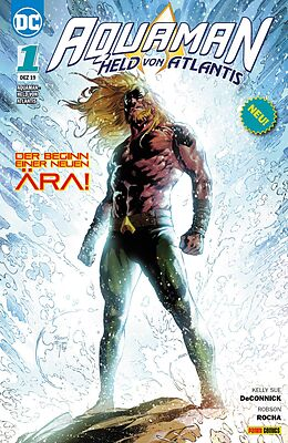 Kartonierter Einband Aquaman - Held von Atlantis von Kelly Sue DeConnick, Robson Rocha