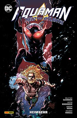 Kartonierter Einband Aquaman - Held von Atlantis von Kelly Sue DeConnick, Robson Rocha, Viktor Bogdanovic