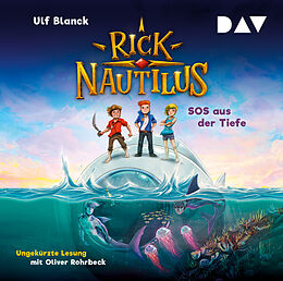 Audio CD (CD/SACD) Rick Nautilus  Teil 1: SOS aus der Tiefe von Ulf Blanck