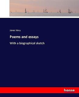 Kartonierter Einband Poems and essays von Jones Very