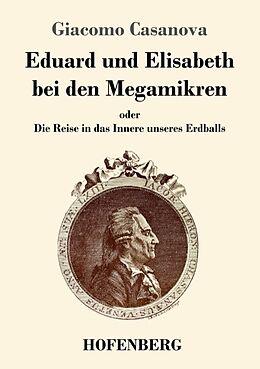 Kartonierter Einband Eduard und Elisabeth bei den Megamikren von Giacomo Casanova