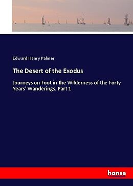 Kartonierter Einband The Desert of the Exodus von Edward Henry Palmer