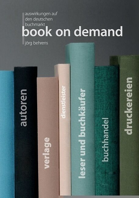Book on demand