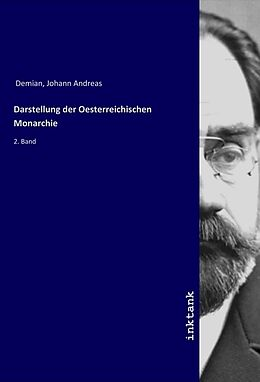 Kartonierter Einband Darstellung der Oesterreichischen Monarchie von Johann Andreas Demian