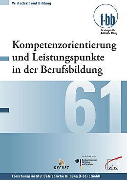 E-Book (pdf) Kompetenzorientierung und Leistungspunkte in der Berufsbildung von