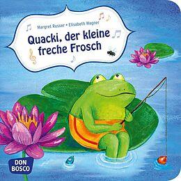 Quacki, der kleine freche Frosch [Versione tedesca]