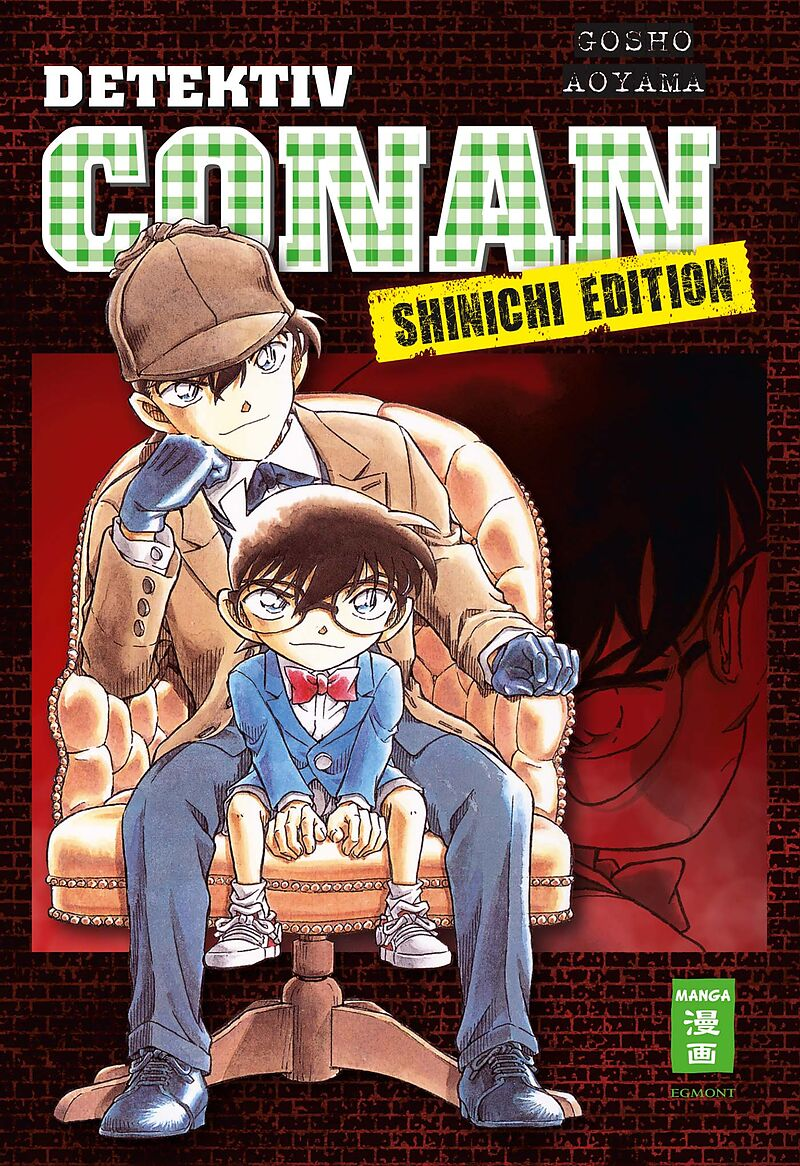 detektiv conan shinichi edition gosho aoyama buch kaufen ex libris. Black Bedroom Furniture Sets. Home Design Ideas