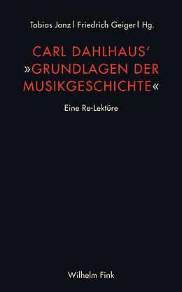 Kartonierter Einband Carl Dahlhaus' Grundlagen der Musikgeschichte von Carl Dahlhaus