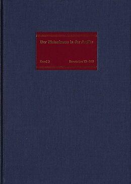 Fester Einband Der Platonismus im 2. und 3. Jahrhundert nach Christus von Heinrich Dörrie