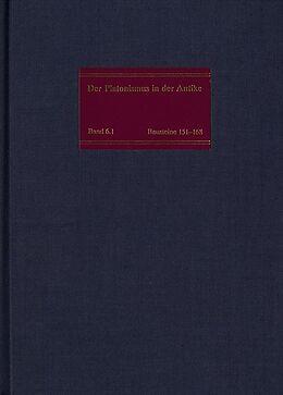 Fester Einband Die philosophische Lehre des Platonismus [3], 2 Teile von Heinrich Dörrie, Matthias Baltes