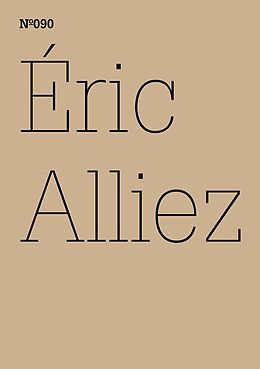 E-Book (epub) Éric Alliez von Éric Alliez