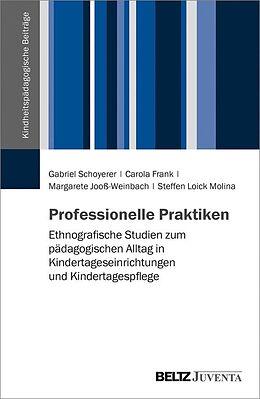 E-Book (pdf) Professionelle Praktiken von Gabriel Schoyerer, Carola Frank, Margarete Jooß-Weinbach