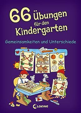 Kartonierter Einband 66 Übungen für den Kindergarten von