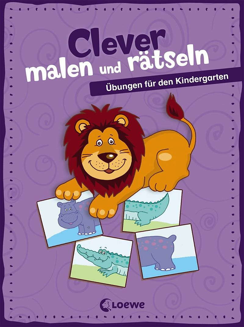 clever malen und r tseln bungen f r den kindergarten buch kaufen. Black Bedroom Furniture Sets. Home Design Ideas