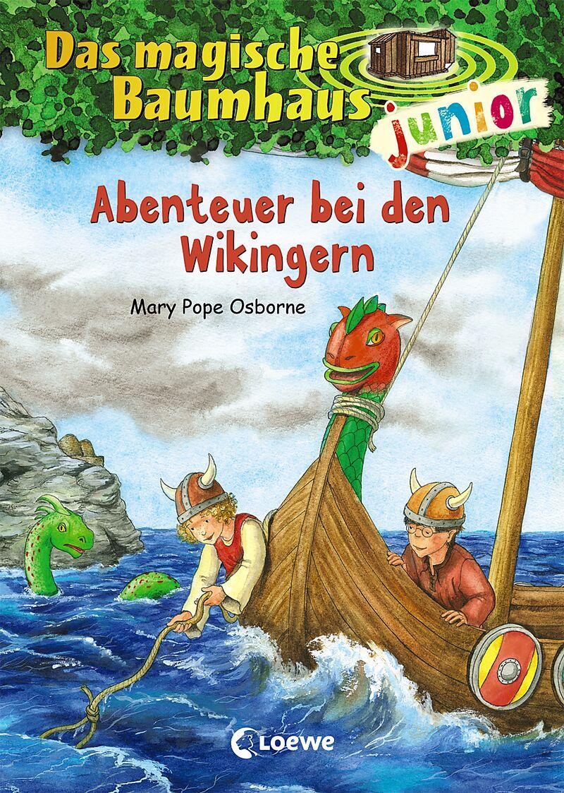 Das magische Baumhaus junior - Abenteuer bei den Wikingern ...