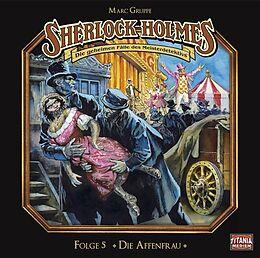 Audio CD (CD/SACD) Die Affenfrau von Sir Arthur Conan Doyle, Marc Grupe