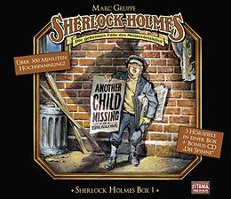 Audio CD (CD/SACD) Sherlock Holmes Box 1 von Sir Arthur Conan Doyle