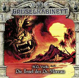 Audio CD (CD/SACD) Gruselkabinett - Folge 122 von H.G. Wells