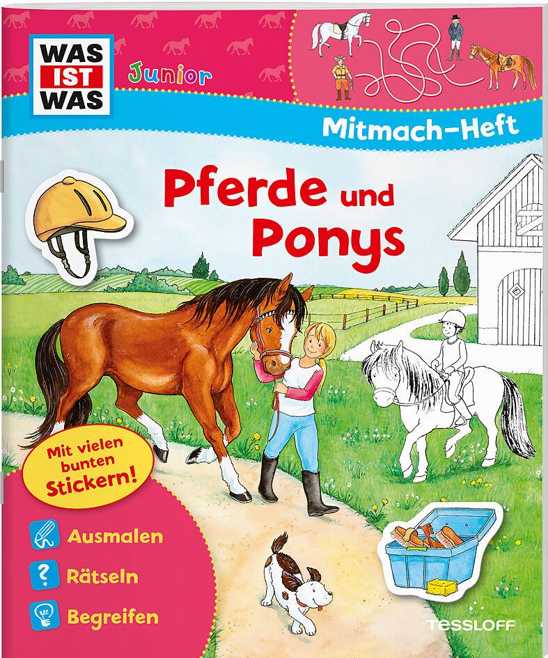WAS IST WAS Junior Mitmachheft Dinosaurier: Spiele Sticker WAS IST WAS Junior Mitmach-Hefte R/ätsel
