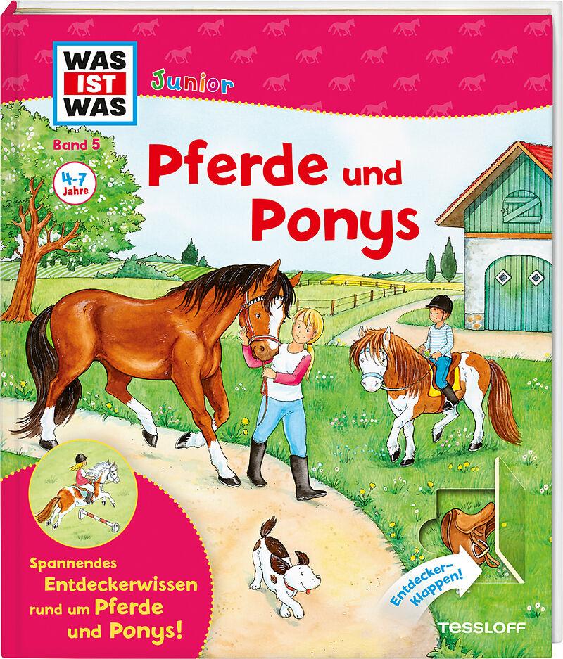 WAS IST WAS Junior Band 5. Pferde und Ponys - Christina Braun ...
