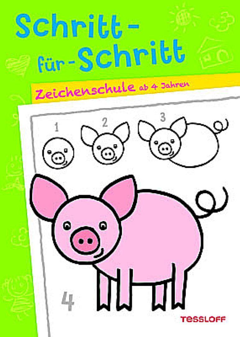 Schritt-für-Schritt. Zeichenschule ab 4 Jahren - - Buch kaufen ...