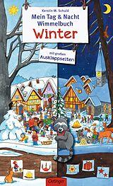 Mein Tag & Nacht Wimmelbuch Winter [Version allemande]