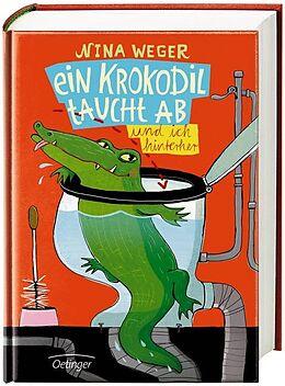 Ein Krokodil taucht ab