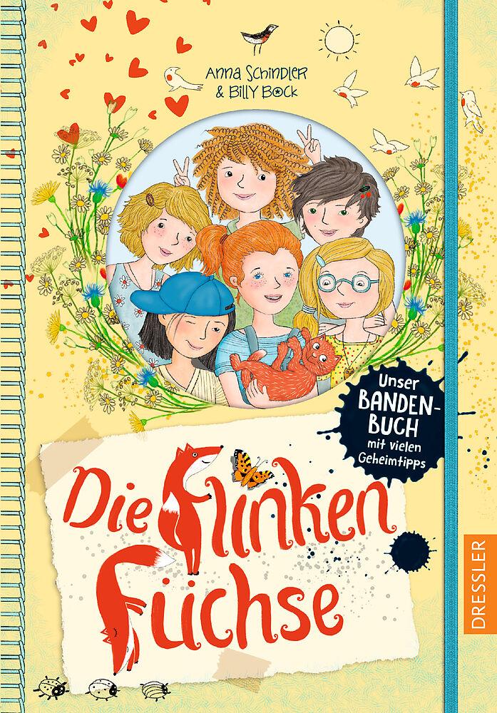 Die flinken Füchse. Unser Bandenbuch mit vielen Geheimtipps [Version allemande]
