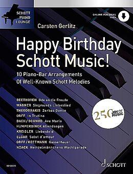 Notenblätter Happy Birthday, Schott Music! (+Online Audio)