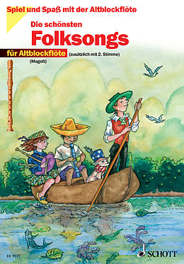 E-Book (pdf) Die schönsten Folksongs von Hans Magolt, Marianne Magolt
