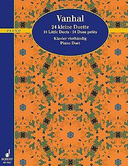 Johann Baptist (Krtitel) Vanhal Notenblätter 24 kleine Duette für