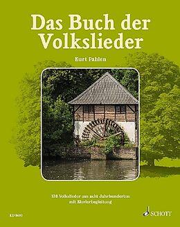 Fester Einband Das Buch der Volkslieder von Kurt Pahlen