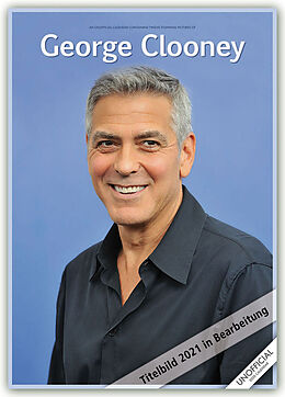 Kalender George Clooney 2021 - A3 Format Posterkalender von RedStar Carousel