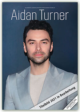 Kalender Aidan Turner 2021 - A3 Format Posterkalender von RedStar Carousel