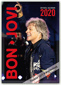 Kalender Bon Jovi 2021 - A3 Format Posterkalender von Danilo Publishers