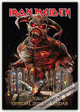Kalender Iron Maiden 2021 - 18-Monatskalender von Danilo Publishers