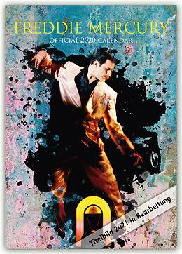 Kalender Freddie Mercury 2021 - A3 Format Posterkalender von Danilo Publishers