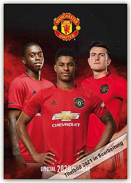 Kalender Manchester United 2021 - A3 Format Posterkalender von Danilo Publishers