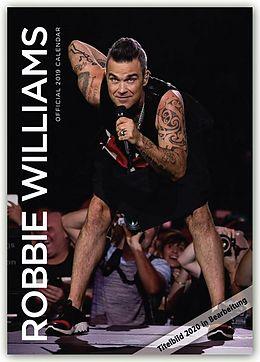 Kalender Robbie Williams 2020 - A3 Format Posterkalender von Robbie Williams