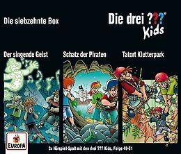 Audio CD (CD/SACD) Die drei ??? Kids 017 / 3er Box (Folgen 49, 50, 51) von