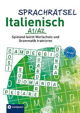 Paperback Sprachrätsel Italienisch A1/A2 von Isabella Bergmann, KaSyX GmbH
